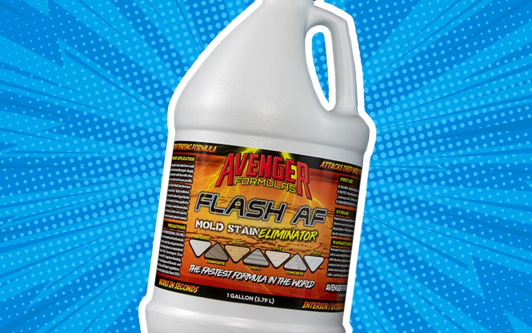 Gallon of our product, Flash AF.